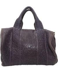 Alexander Wang Rocco Leather Duffel Bag - Brown