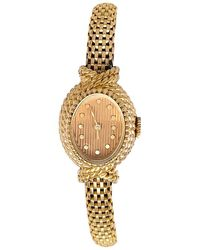 Boucheron Y Ellow Gold 1960s Ladies Watch - Metallic