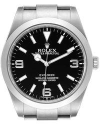 Rolex Explorer I Automatic Steel Men's Watch 214270 - Metallic