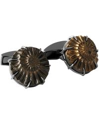 Tateossian - Ammonite Negative Silver Cufflinks, Limited Edition - Lyst