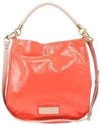 Marc By Marc Jacobs Leather Too Hot To Handle Hobo - Orange