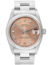 Rolex - Datejust 31 Midsize Salmon Dial Steel Ladies Watch 78240 - Lyst