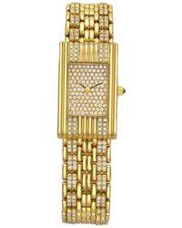 Boucheron Reflet Gold And Diamond Wristwatch - Yellow