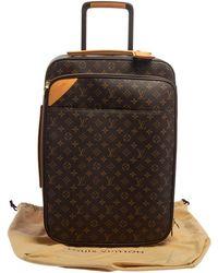 Louis Vuitton Monogram Canvas Business Pegase Legere 55 Luggage - Multicolor