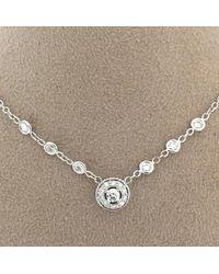 Penny Preville Ladies Diamond Necklace N1016w - Multicolor