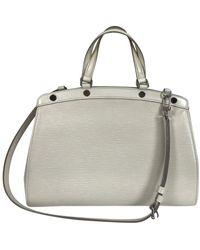 Louis Vuitton Epi Leather Brea Shoulder Bag Mm Ivory - White