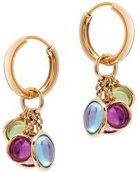 Goshwara Multi-color Charm Earrings - Metallic
