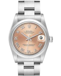 Rolex - Datejust Midsize Salmon Dial Ladies Watch 78240 - Lyst