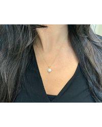 ALBERTO - 0.70 Carat Pearl And Diamond Pendant - Lyst