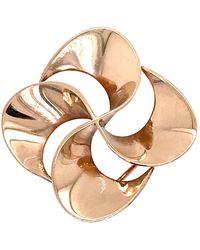 Tiffany & Co. - 14 Karat Gold Modern Pin-wheel Brooch Or Pin - Lyst