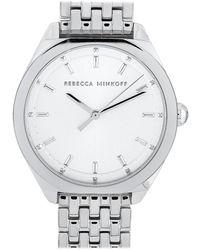 Rebecca Minkoff - Amari Silver-tone Watch 2200325 - Lyst