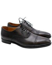 Balmain Leather Men's Derbies - Size Eu 44 - Black