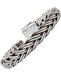 Scott Kay Sterling Silver 18 Karat Gold Doberman Men's Bracelet - Metallic