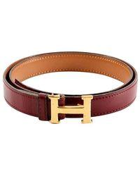 Hermès Hermes Vintage H Buckle - Brown