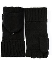 Rag & Bone Keighley Fingless Gloves black - Lyst