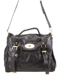 1ec083332e9 ... coupon code for mulberry oversized alexa leather bag lyst 5bd91 fce20
