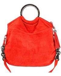 Almala Suede Shoulder Bag - Natural