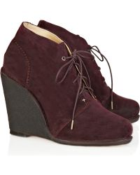 Rag & Bone Odval Desert Suede Wedge Boots - Lyst