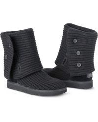 Ugg Classic Cardi Boots - Lyst
