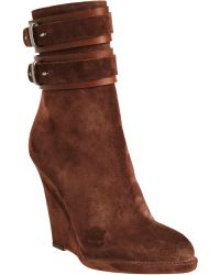 Givenchy Wedge Ankle Boot - Lyst