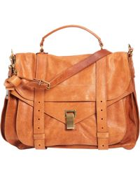 Proenza Schouler Extra Large Leather Ps1 - Lyst