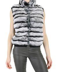 Vicedomini - Cashmere and Rabbit Fur Vest - Lyst
