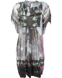 Beyond The Valley - Naomi Digital Print Dress - Lyst