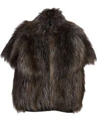 Dolce Vita - Faux Fur Vest - Lyst