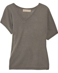 Max Azria Cashmere and Wool-blend Sweater gray - Lyst