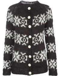 Gudrun & Gudrun - Hand Knitted Cardigan - Lyst