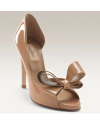 Valentino Couture Bow D'Orsay Pump - Lyst