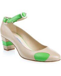 Eley Kishimoto - Ankle Strap Court Shoes - Lyst