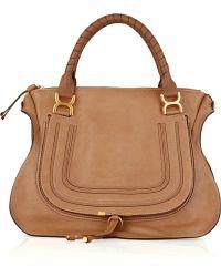 Chloé Marcie Large Leather Bag - Lyst