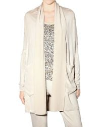 Jo No Fui - Jersey and Crepe Jacket - Lyst