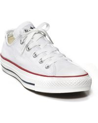 Converse Chuck Taylor All Stars Oxford Sneakers white - Lyst