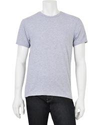 Scp Short Sleeve Crewneck T-Shirt - Lyst
