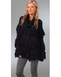 Camilla & Marc - Knitted Wool-blend Cardigan - Lyst