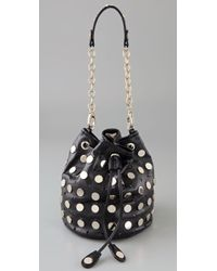 Temperley London - Aurora Studded Leather Pouch Bag - Lyst