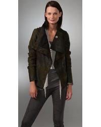 Graham & Spencer - Distressed Leather Jacket - Lyst