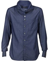 Timo Weiland Long Sleeve Button Up - Blue