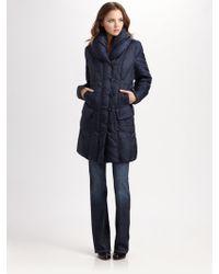 Creenstone - Pillow Collar Puffer Coat - Lyst