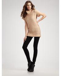 VPL - Funnel Neck Sweater Top - Lyst