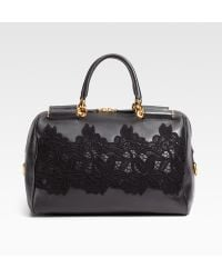 Dolce & Gabbana Miss Sicily Bowling Top Handle Bag - Lyst