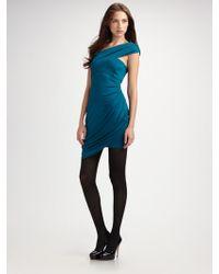 Laila Azhar - Asymmetrical Silk Dress - Lyst