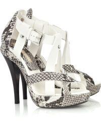 Michael Kors - Mk Flex Small Heeled Court Shoes - Lyst