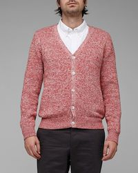 Vanishing Elephant Red Clapton Cardigan - Lyst