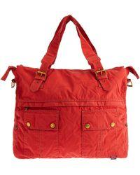 Belstaff - Washed Canvas Travel Bag - Lyst