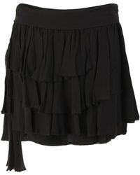 Edun - Tiered Chiffon Skirt - Lyst