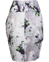 Paul Smith Black Label - Floral Print Skirt - Lyst