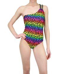 Triya - Leopard Whole Bathing Suit - Lyst